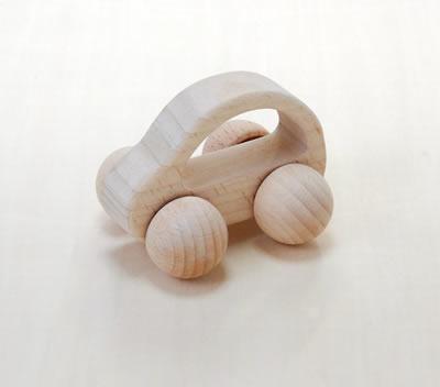 木のおもちゃころころくるま(ベビー)[名入れOK A]【赤ちゃん 木の玩具 木の玩具 あかちゃん 木製おもちゃ】【RCP】【コンビニ受取対応商品】