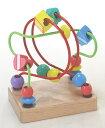 木のおもちゃ 赤ちゃん くねくねミニ・グリーン(ルーピング)[名入れOK A] 【木製玩具 木の玩具 木のオモチャ】【コ…