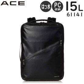 【各種利用でポイント最大24倍!】 【SALE】 ACE ヴィターラWR リュック (15L) 撥水 13インチPC対応 B4収納 ビジネスバッグ 61141