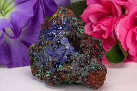 アズライト マラカイト 群青 藍銅鉱 らんどうこう 192g パワーストーン 天然石