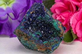 AAA アズライト マラカイト 群青 藍銅鉱 らんどうこう 228g パワーストーン 天然石