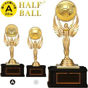 トロフィー サッカー 高さ22cm 卒団記念品 サッカー トロフィー 野球 卒業記念品 バスケ バレー ボール ゴルフ 卒業 卒団 部活 引退 記念品 名入れ 1個から 賞品 景品 トロフィー カップ スポー