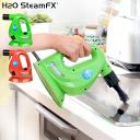 H2OスチームFX 8点デラックスセット【h2o/fx/スチームクリーナー/スチームモップ/ハンディスチーマー/高圧洗浄機…