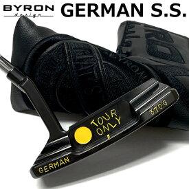 NEW! 【送料無料】バイロンデザイン GSS ツアーオンリー 370G ダイヤモンドブラック仕上げ(イエロー刻印)
