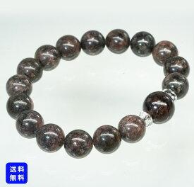【現品限り】スギライト ブレスレット 12.5mm 15mm 玉 天然石 水晶 パワーストーン メンズ レディース