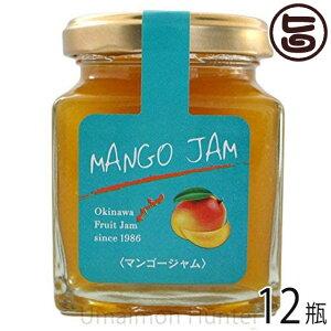沖縄農園 トロピカルジャム マンゴ 140g×12瓶 沖縄 土産 ミックスジャム 濃厚で豊かな甘みと香り 甘さ控えめ パンやヨーグルト、フルーツソースやスイーツ作りに 条件付き送料無料