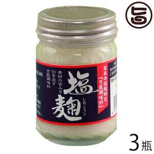 ギフト 渋谷醸造 無添加 塩麹 120g×3瓶 北海道 人気 土産 調味料 北海道産米 肉や魚 野菜の旨味を引き出し 条件付き送料無料