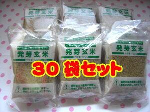 【送料無料】発芽玄米30袋セット お米に混ぜれば栄養満点!新潟県産コシヒカリ100%です♪(発芽小雪)【楽ギフ_のし宛書】
