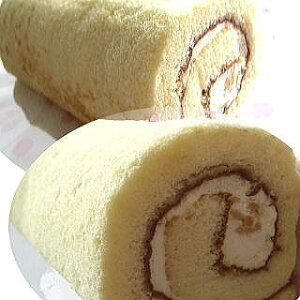 【送料無料】ロールケーキ38cm(冷凍にて配送) 新食感!新潟県産コシヒカリの米粉で作りました。粘りともちもち感がたまりません♪38cmのロングサイズでパーティーやプレゼントに最適で