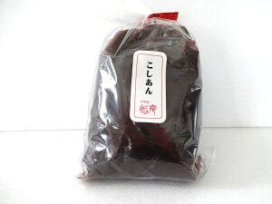【送料無料】 餡職人の作る美味しいあんこ。おもちに、ぜんざいに、トーストに、北海道産あずき100%。こしあん500グラム×310P05Apr14M