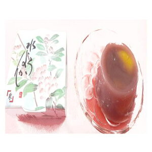 【送料無料】 餡職人の作る美味しいあんもち北海道産あずき100%。水ようかん栗入り箱入(12個入)贈答に人気