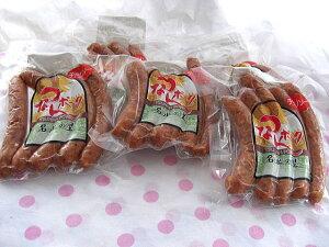 【送料無料】津南町 チョリソ5本×6袋ウイルスフリーポークを手作りウインナー (冷凍にて配送) ヘルシーで赤みの美味しさたっぷり。国際大会で受賞歴あり☆最高級「つなんポーク」