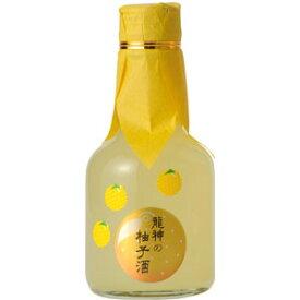 和歌のめぐみ 「龍神の柚子酒」 180ml 8度(クリアケース入り) 【RCP】