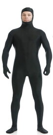本格 ハロウィン 衣装 コスプレ 仮装 コスチューム 男 男性 女 女性 メンズ レディース うける 面白い かっこいい お手軽 全身タイツ モジモジくん 人気者 なりきり 大人 3XL 190cm 205cm 大きいサイズ ブラック