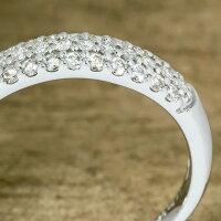 PT950ハードダイヤモンド0.32ctパヴェリング