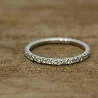 フルエタニティーリングダイヤモンド0.37ct〜0.45ctハードプラチナ950