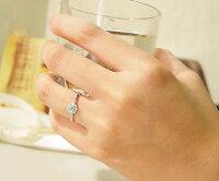 K18パライバトルマリンダイヤモンドリング「giorgina」