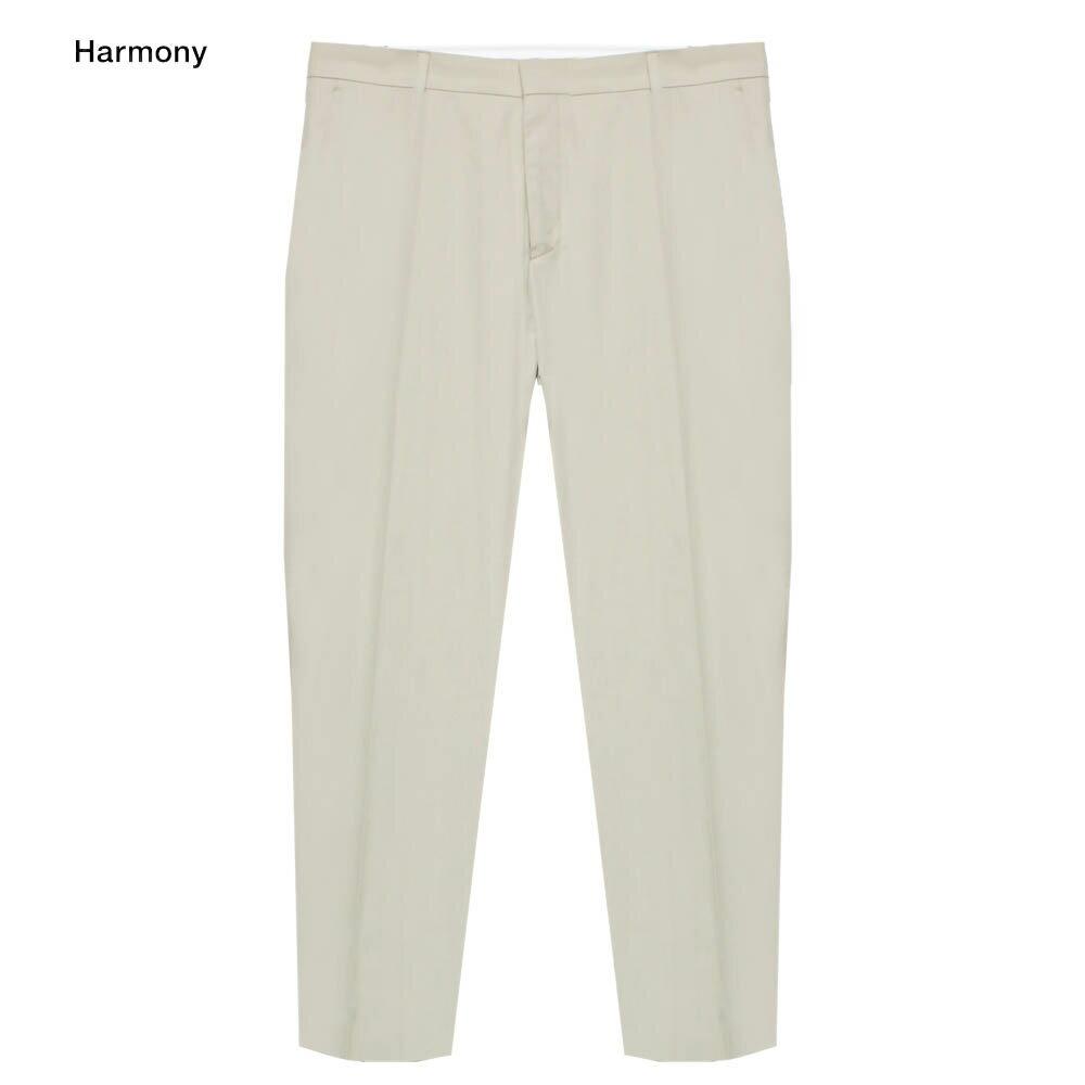 HARMONY (ハーモニー) PIETRO TROUSER (MASTIC) [トラウザー/パンツ/スラックス/タック/スリム/コットン/MENS] [マスチックス]
