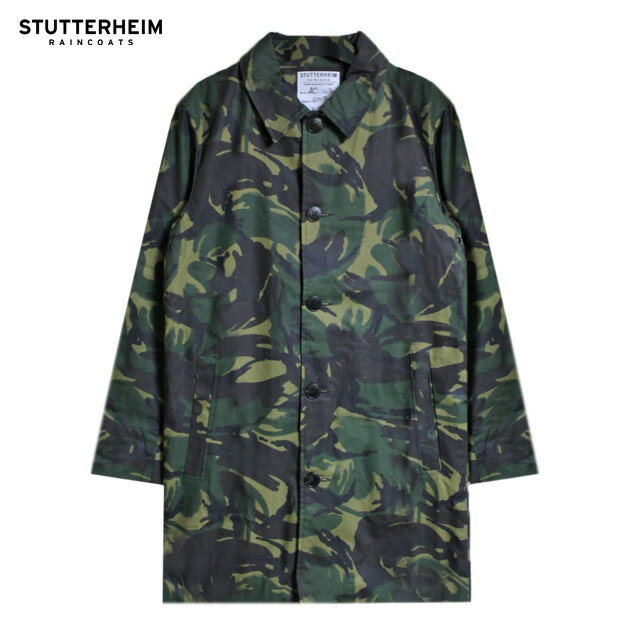 STUTTERHEIM (ストゥッテルハイム) INFERNO (CAMO) [チェスターコート/ステンカラー/コーティング/撥水/迷彩/UNISEX] [カモ]