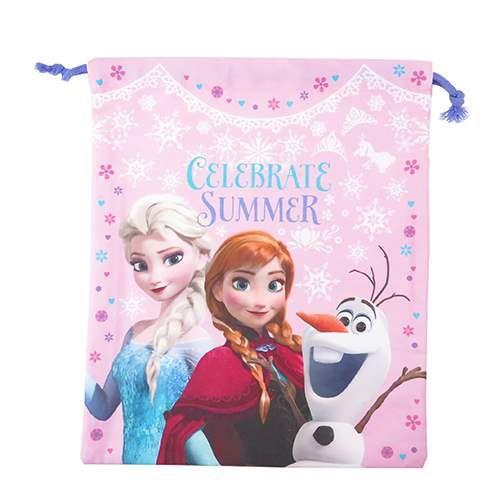 【新入園・新入学】アナと雪の女王 きんちゃくポーチ 大 アナと雪の女王 きんちゃくポーチ 大
