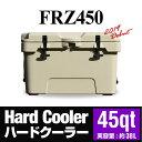 『クーラーボックス』 ハードクーラー FRZ450 45qt 大容量 大型 cooler BOX 保冷ボックス 保冷力 シンプル アウトドア…