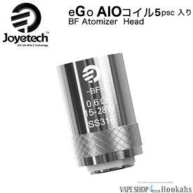 ベイプ 交換コイル ジョイテック 純正 交換コイル AIO エーアイオー 5個入り Joyetech eGo AIO SS316-0.6ohm 5PCS入りvape