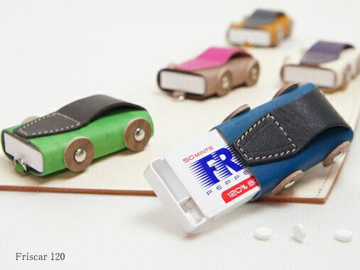 VARCO REALWOOD ヴァーコリアルウッド フリスカー120 フリスクケース フリスク ケース おしゃれ かわいい 革 本革 ヌメ革 レザー 日本製 木製 ギフト プレゼント 革小物 ミントケース