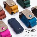 VARCO REAL WOOD アイコスケース iqos iqosケース 収納 木製 革 本革 革製 ヌメ革 レザー 日本製 木製 天然木 メンズ レディース コンパクト スマート 機能的 シンプル ギフト 大人 かわいい ブランド 送料無料 プレゼント ホワイトデー