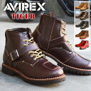 【ポイント10倍】【送料無料】AVIREX アビレックス TIGER タイガー ブーツ メンズ 本革 ブーツ ショートブーツ エンジ…