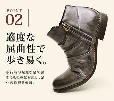 メンズブーツメンズブーツショートブーツドレープブーツエンジニアブーツワークブーツWジッパーフォーマルメンズ人気靴男Zeenoジーノze2789