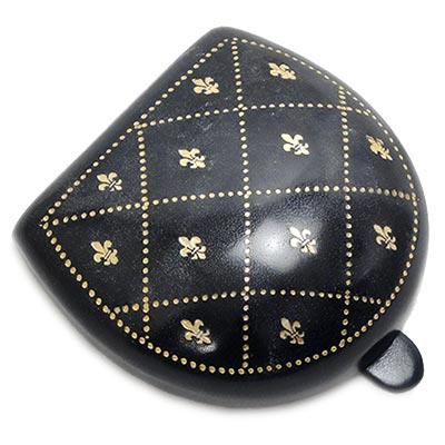 【ペローニ正規輸入品】 純イタリア製 コインケース Peroni 594 Black Gold Decoration #7 / ゴールドデコレーション#7【楽ギフ_包装】【楽ギフ_のし宛書】【楽ギフ_メッセ入力】