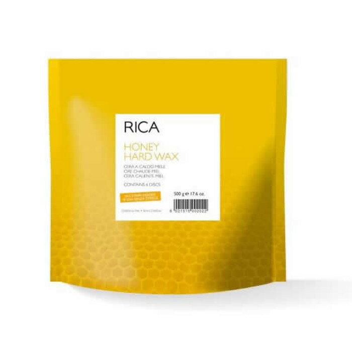 ブラジリアンワックス RICA ハニー ハード ワックス 500g 顔 フェイス 鼻下 脱毛 デリケートゾーン アンダーヘア 処理 敏感肌