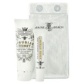 マインビーチ MAINE BEACH リグリアンハニー エッセンシャル デュオ パック(ハンドクリームとリップバームのセット) LIGURIAN HONEY 5503018
