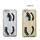 iPhone6siPhone6iPhone5siPhone5ケーススマホケースおもしろiPhone6sケースアイフォン可愛いハードケースシリコンレザーおもしろ目eye女の子派手キラキララメ