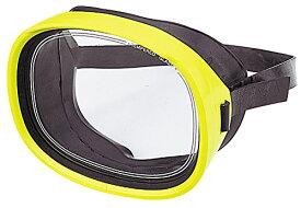 ダイビングマスク シュノーケルマスク YASUDA(ヤスダ) キャロットD型 ネオンイエロー YD-366D ダイビング 水中マスク