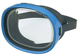 ダイビングマスク シュノーケルマスク YASUDA(ヤスダ) キャロットD型 ブルー YD-366D ダイビング 水中マスク