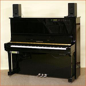 【中古】YAMAHA-ヤマハ・アップライトピアノサイレント&自動演奏機能付きHQ300SX