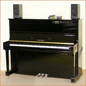 【中古】YAMAHA-ヤマハ・アップライトピアノ★サイレント&自動演奏機能付き HQ100SX