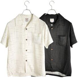 ■30days価格■ HOUSTON(ヒューストン) ALOHA SHIRT KASURI アロハシャツ カスリ 2021春夏 メンズ 半袖シャツ (40817)【あす楽対応】