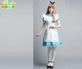 【レディ】【LLL】Rose Garden Girl【ローズガーデンガール】【AMO】【アリス】【不思議の国のアリス】【ハロウィン】【コスプレ】【コスチューム】【衣装】【仮装】【かわいい】