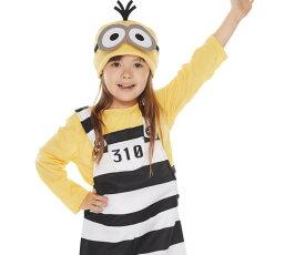 【キッズ】囚人ミニオン【S】【BOB】【ミニオンズ】【怪盗グルー】【USJ】【ユニバーサル】【ハロウィン】【コスプレ】【コスチューム】【衣装】【仮装】【かわいい】
