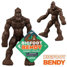 ビッグフット ベンディ【1個までメール便OK】BIGFOOT BENDY 未確認生物 UMA 人形 フィギュア おもちゃ インテリア USA アメリカン雑貨【ポイント】