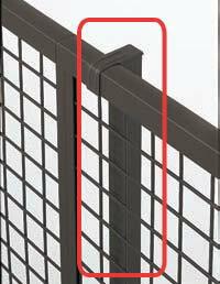 【フェンス 部材】プリレオR型フェンスフリー支柱(部品付き)高さ800用本体同時購入で送料無料!柱1本からでも購入可能です!TOEX(LIXIL)のアルミ フェンス柱|ガーデン 工事 施工 庭 diy 部品 住宅 外構 ささえ アルミ支柱 リクシル エクステリア