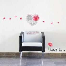 ウォールステッカー インテリアシール 壁シール 壁紙シール Love is wall sticker 北欧 02P05Nov16