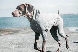 Hurtta フルッタ ボディウォーマー 大型犬/超大型犬用 カラー:グレイ オーバーオール 冬用 犬服 レインコート