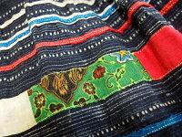 モン族スカートロングスカートモン族手刺繍クロスステッチ藍染ろうけつ染め