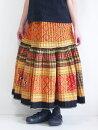 モン族スカートロングスカートモン族手刺繍クロスステッチアップリケ