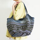 モン族手刺繍グラニーバッグ大きめアジアンエスニックバッグテ刺しゅう藍染トートバッグショルダーバッグ
