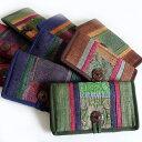 モン族(ミャオ族)お財布 刺繍 長財布 ウォレット