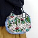 sisi グラニーバッグ 定番サイズ バティックマドゥラ D ろうけつ染め sisiバッグ 布バッグ ショルダーバッグ